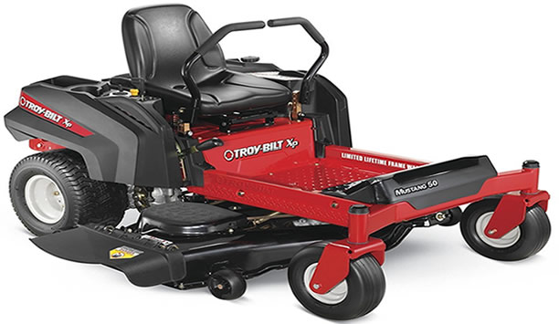The Best Troy Bilt Mower For 2018 Is The Zero Turn Mustang
