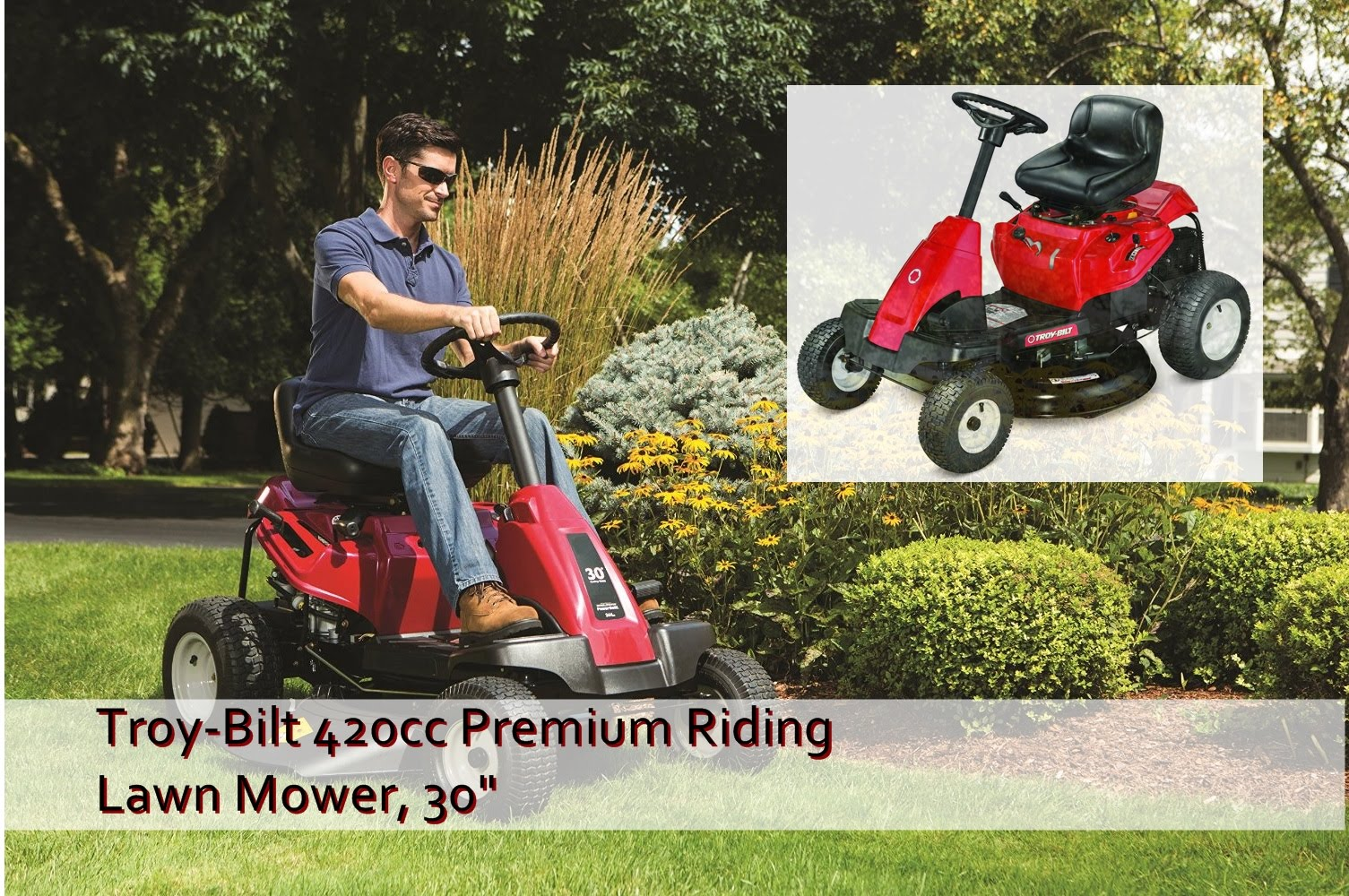 toy bilt TB30R best riding lawn mower