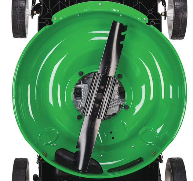 Lawnboy lawn mower 10734 tri-cut system
