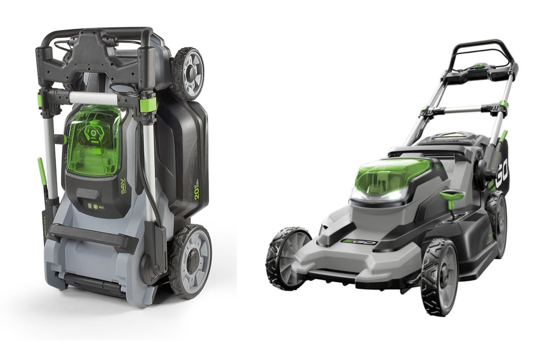 ego plus lawn mower best electric mower