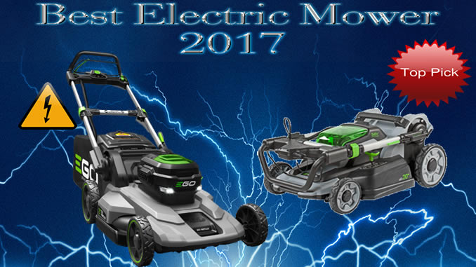 Ego Power Wins Best Electric Lawn Mower For 2018