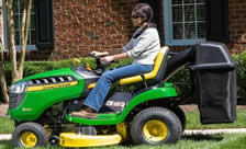John-Deere-D125-Riding-Mower
