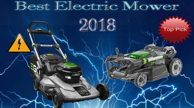 2018 electric lawn mower