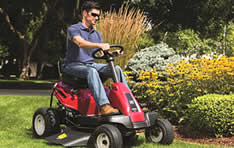 The Troy-Bilt TB30R has a respectable 18 inch turn