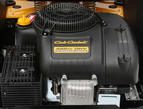 The Cub Cadet RZT 34 inch may have the smallest engine but it offers the best speed
