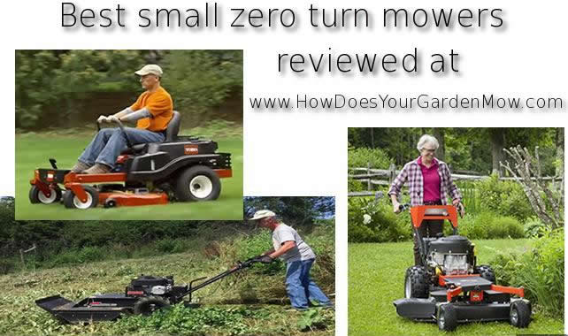 small zero turn mowers