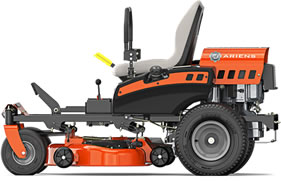 The Ariens Zoom 34 inch profile view