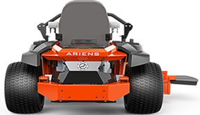 Ariens Apex riding mower rear view