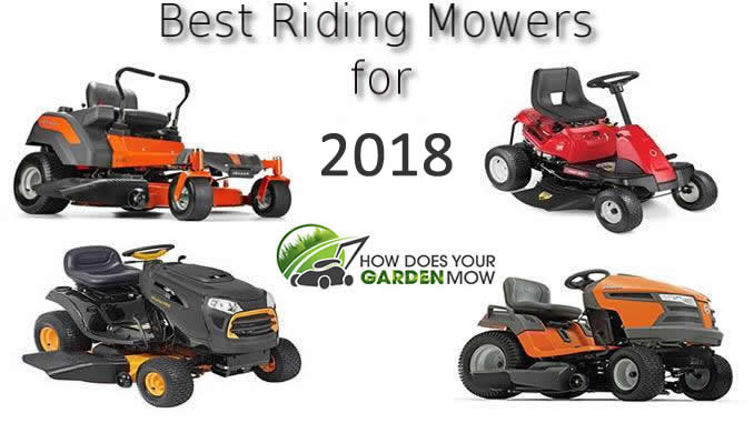 best riding lawn mower 2018