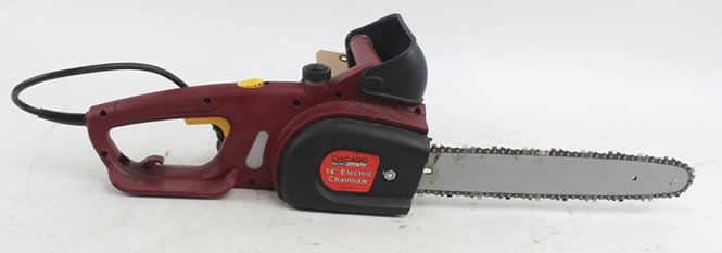 chicago electric powered chainsaw