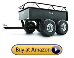 Agri-Fab 1000-Pound Heavy Duty - pull behind lawn mower trailer