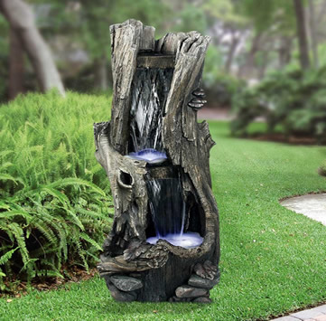 Alpine win 258 LED outdoor water fountain