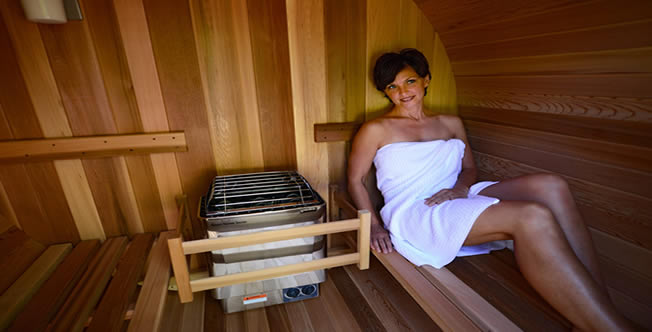 Buying a Sauna for the Home - home sauna