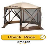 Clam Corporation 9879 – screened gazebo for sale