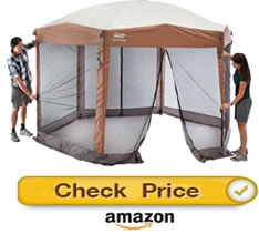 Coleman Back Home - screened gazebos for sale