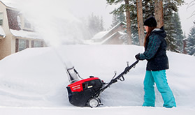 Honda – – highest rated snow blowers