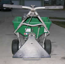Lesco commercial spreader - best walk behind salt spreader