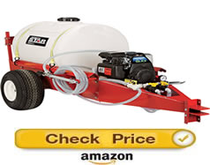 NorthStar 55 gallon - pull behind sprayer for lawn tractor