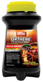 Orthene - how to get rid of ant hills in the lawn