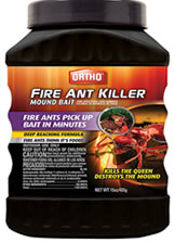 Ortho mound bait - - how to get rid of ant hills in the lawn