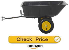 Polar Trailer LG7 – pull behind lawn mower trailer