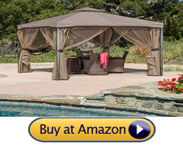 Sonoma steel fabric gazebo