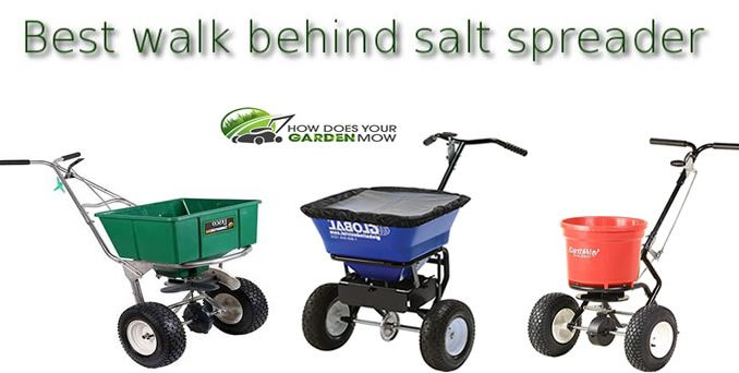 best walk behind salt spreader