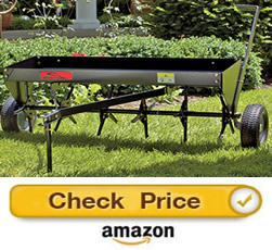 brinley PA-40BH – pull behind core aerator