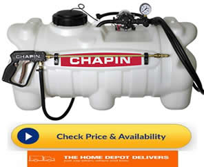 chapin sprayer 25 gal - commercial lawn sprayer equipment