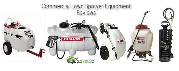 commercial lawn sprayer equipment