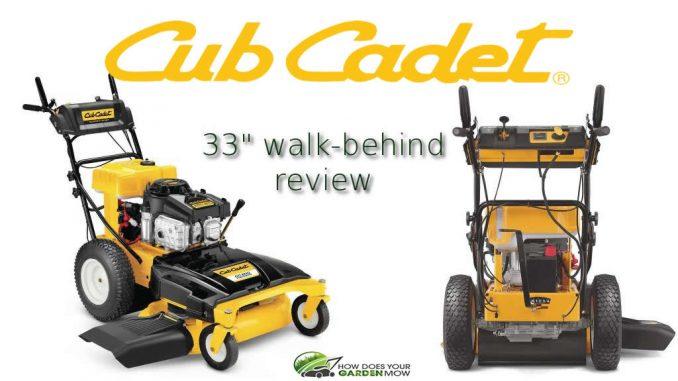 cub cadet 33 inch walk behind mower