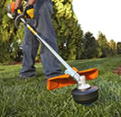edger on grass - how to cut grass without a lawnmower
