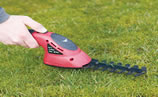 hedge trimmer - how to cut grass without a lawnmower