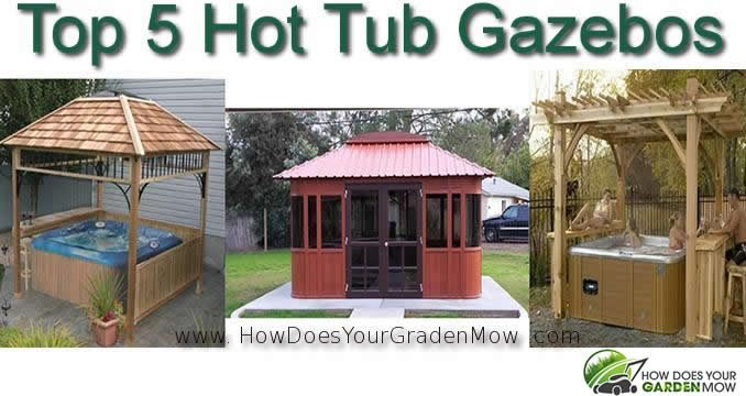 hot tub gazebos for sale