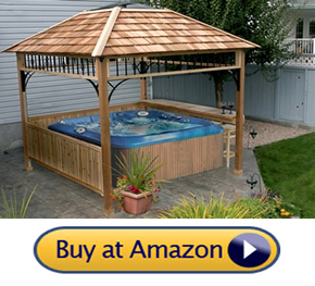 hot tub gazebo for sale - Naramata Spa Gazebo