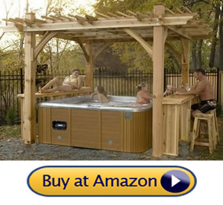 hot tub gazebos for sale – Sunset Boulevard Pergola