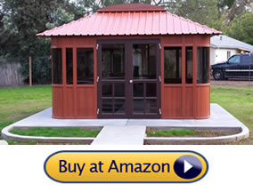 hot tub gazebos for sale - Westview Aspen luxury UItrawood Spa Gazebo