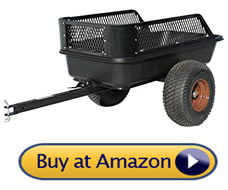 impact elements cart – pull behind lawn mower trailer