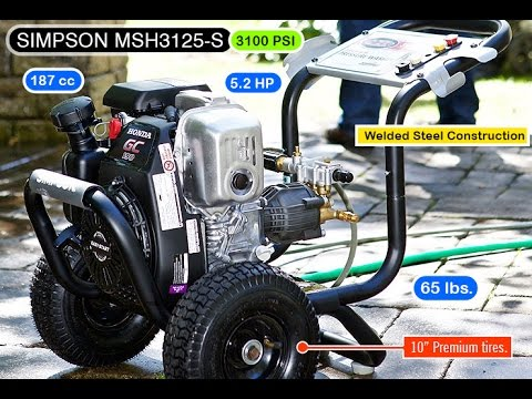 pressure washer MSH3125-S