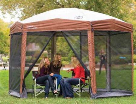 screened gazebos for sale - coleman