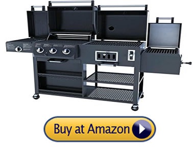 smoke hollow best grill and smoker combo available on Amazon