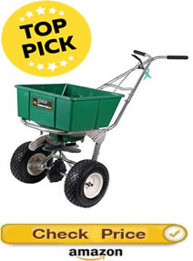 top pick - best walk behind salt spreader