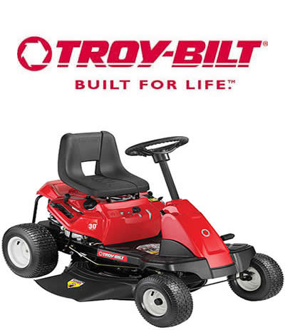 troy-bilt – discount riding lawn mowers