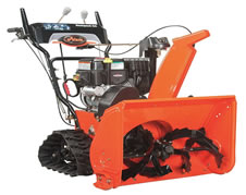 two stage snow blower