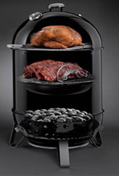 weber smokey mountain charcoal smoker – best smoker under 500