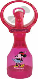 02COOL Minnie Mouse misting fan