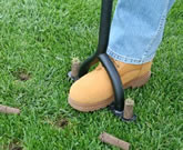 2 prong aerator - how to aerate lawn by hand