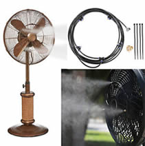 Dynamic Collections Standing misting fan