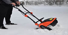 Ejwox snow blowers in action