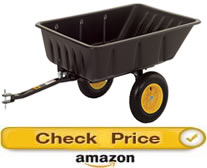 Polar wagon – pull behind wagon for lawn mower